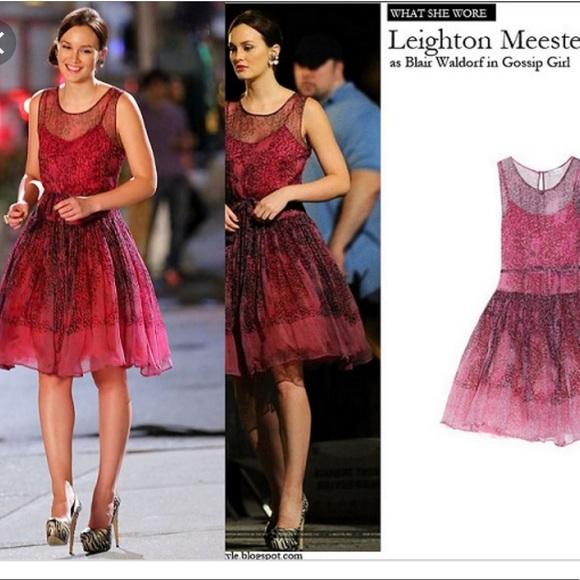 6f99bf38983f RED Valentino silk chiffon dress aso Gossip Girl. M_5c471e2cf63eead3f1071eab